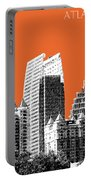 Atlanta Skyline 2 - Coral Portable Battery Charger