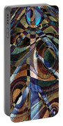 Atlanta Solis Abstract Art Portable Battery Charger