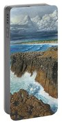 Atlantic Breakers Pontal Portugal Portable Battery Charger