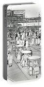 Atlantic City Boardwalk 1940 Portable Battery Charger