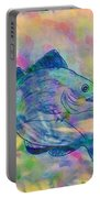 Atlantic Codfish Digital Color Portable Battery Charger