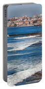 Atlantic Ocean Coast In Cascais And Estoril Portable Battery Charger