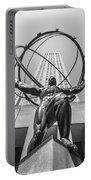 Atlas Statue Rockefeller Center Portable Battery Charger