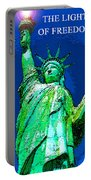 The Light Of Freedom Portable Battery Charger