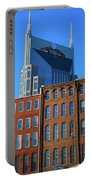 At&t Building And Historic Red Brick Portable Battery Charger