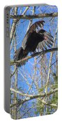 Attack Of The Turkey Vulture Portable Battery Charger