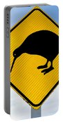 Attention Kiwi Crossing Road Sign Portable Battery Charger