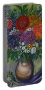 Atumn Flowers Portable Battery Charger