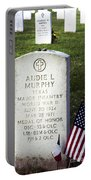 Audie Murphy - Most Decorated Portable Battery Charger