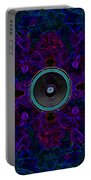 Audio Purple Glow Portable Battery Charger