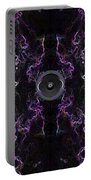 Audio Purple Neon Portable Battery Charger