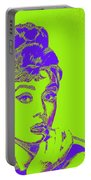 Audrey Hepburn 20130330v2p38 Square Portable Battery Charger
