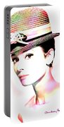 Audrey Hepburn 6 Portable Battery Charger