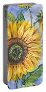 Audrey's Sunflower Portable Battery Charger