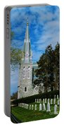 Augustinian Cemetery And Church Portable Battery Charger