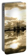 Auke Bay In Sepia Portable Battery Charger