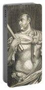 Aullus Vitellius Emperor Of Rome Portable Battery Charger
