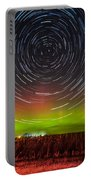 Aurora Startrail  Portable Battery Charger