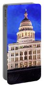 Austin State Capitol Building, Texas - Portable Battery Charger