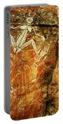 Australia Ancient Aboriginal Art 2 Portable Battery Charger