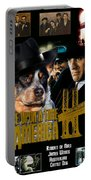 Australian Cattle Dog Art Canvas Print - Once Upon A Time In America Movie Poster Portable Battery Charger