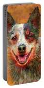Australian Cattle Dog Portable Battery Charger by Jane Schnetlage