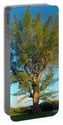 Australian Pine At Sundown Portable Battery Charger