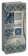 Austria Banknote, 1902 Portable Battery Charger