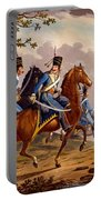 Austrian Hussars In Pursuit Portable Battery Charger