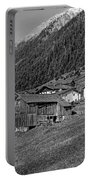 Austrian Village Monochrome Portable Battery Charger