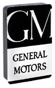 Automobiles Gm Logo Portable Battery Charger