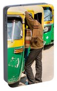 Autorickshaw Row Portable Battery Charger