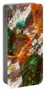 Autumn Abstract Portable Battery Charger