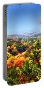Autumn Across The Hills Portable Battery Charger