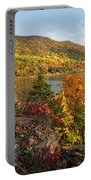 Autumn Along The Hudson Portable Battery Charger