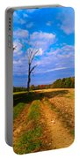 Autumn And The Tree Portable Battery Charger