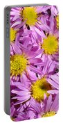 Autumn Aster Portable Battery Charger