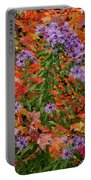 Autumn Asters Portable Battery Charger