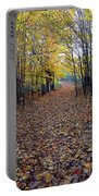 Autumn At Mono Cliffs Portable Battery Charger