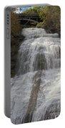 Autumn At Montour Falls Portable Battery Charger