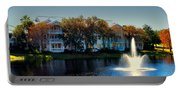 Autumn At Old Key West Resort Panorama Walt Disney World Portable Battery Charger