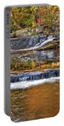 Autumn At Olmsted Falls Portable Battery Charger
