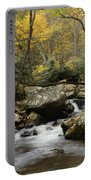 Autumn At Stony Creek Portable Battery Charger