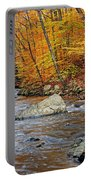 Autumn At The Black River Portable Battery Charger