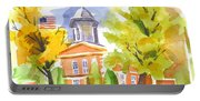 Autumn At The Courthouse Portable Battery Charger