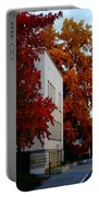Autumn At The Grants Pass Courthouse Portable Battery Charger