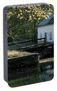 Autumn At The Lockhouse Portable Battery Charger