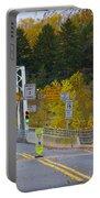Autumn At Washington's Crossing Bridge Portable Battery Charger