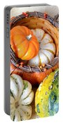 Autumn Basketful Portable Battery Charger