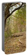 Autumn Bench Portable Battery Charger